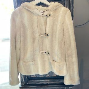 NWT!! Juicy Couture faux fur hooded jacket